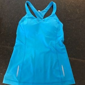 Under Armour tank with built in bra